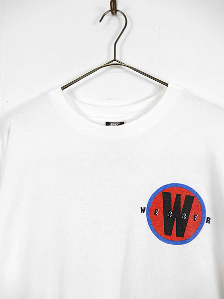 [3] 古着 Tシャツ 90s USA製 NIKE NBA Washington Bullets No 2 「Webber」 フォト Tシャツ XXL 古着