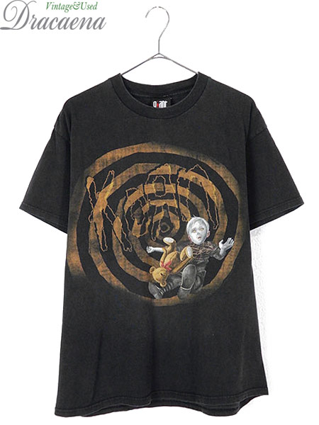[1] 古着 Tシャツ 00s KORN コーン 「See You On The Other Side」 ミクスチャー ロック バンド Tシャツ L 古着