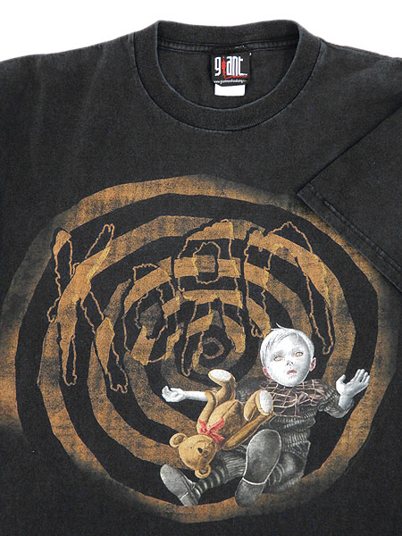 [3] 古着 Tシャツ 00s KORN コーン 「See You On The Other Side」 ミクスチャー ロック バンド Tシャツ L 古着
