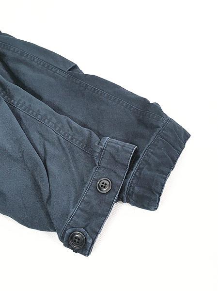 [5] 古着 Nautica Jeans 裏地キルティング フィッシュテール モッズ パーカー コート XL 古着