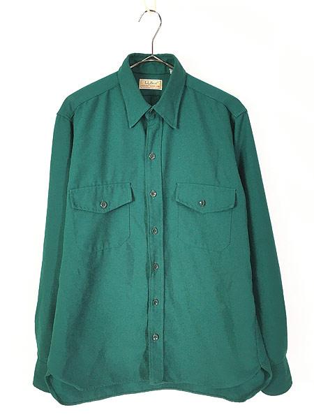 [1] 古着 80s LL Bean 「ALLAGASH FLANNEL」 アラガッシュ フランネル シャツ ネルシャツ M 古着