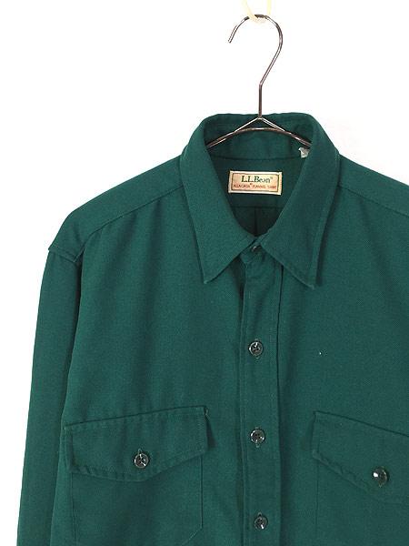 [2] 古着 80s LL Bean 「ALLAGASH FLANNEL」 アラガッシュ フランネル シャツ ネルシャツ M 古着