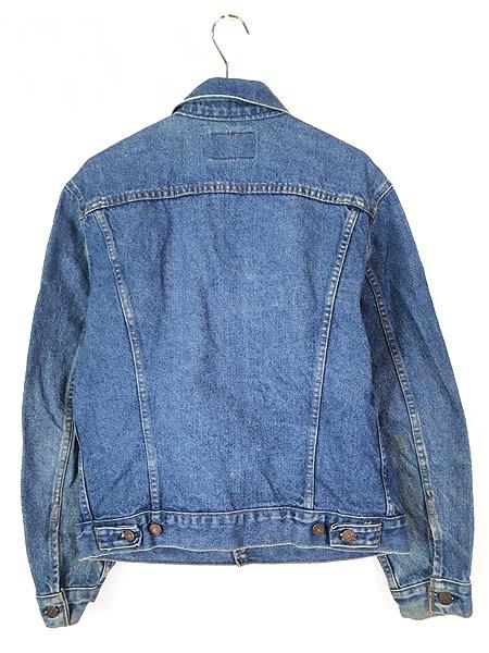 [4] 古着 80s USA製 Levi's 70506 ハンド ポケット付 デニム ジャケット Gジャン 40 古着
