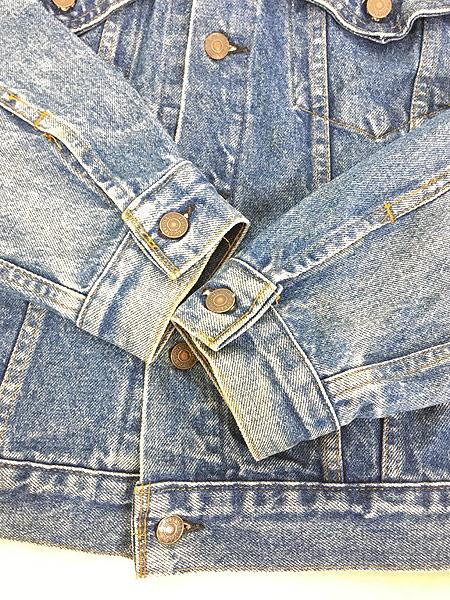 [5] 古着 80s USA製 Levi's 70506 ハンド ポケット付 デニム ジャケット Gジャン 40 古着