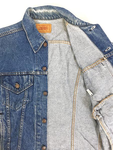 [6] 古着 80s USA製 Levi's 70506 ハンド ポケット付 デニム ジャケット Gジャン 40 古着
