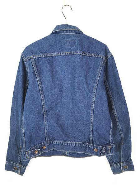 [4] 古着 80s USA製 Levi's 70506 ハンド ポケット付 濃紺 デニム ジャケット Gジャン 42R 古着