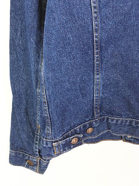 [5] 古着 80s USA製 Levi's 70506 ハンド ポケット付 濃紺 デニム ジャケット Gジャン 42R 古着
