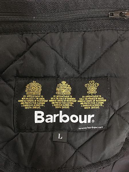 [8] 古着 Barbour 3ワラント 「Matt Barnes」 キルティング コート L ブランド 古着