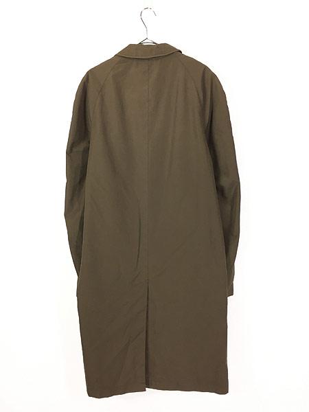 [4] 古着 70s 英国製 BARACUTA 「Diolen Cotton」 比翼 ステンカラー トレンチ コート 40位 古着