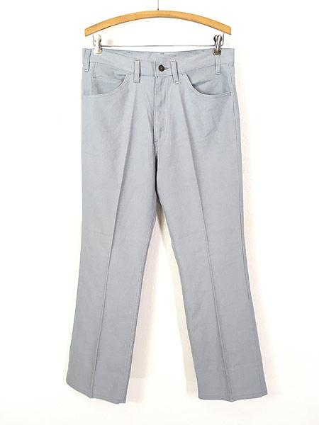 [1] 古着 80s Levi's STA-PREST 517 ホップサック スタプレ パンツ ブーツカット W32 L29.5 古着