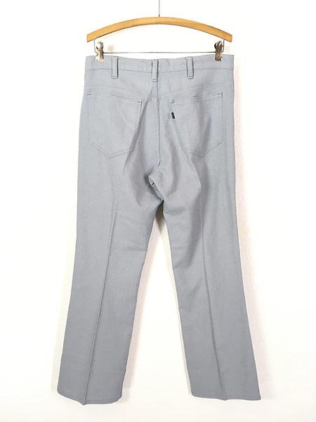 [3] 古着 80s Levi's STA-PREST 517 ホップサック スタプレ パンツ ブーツカット W32 L29.5 古着