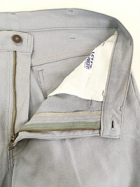 [6] 古着 80s Levi's STA-PREST 517 ホップサック スタプレ パンツ ブーツカット W32 L29.5 古着