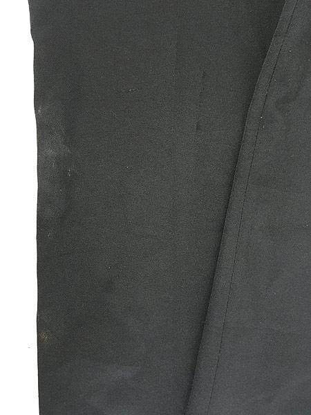 [6] 古着 90s Levi's Action Slacks 光沢 スラックス パンツ スリム!! 黒 W33 L30 古着
