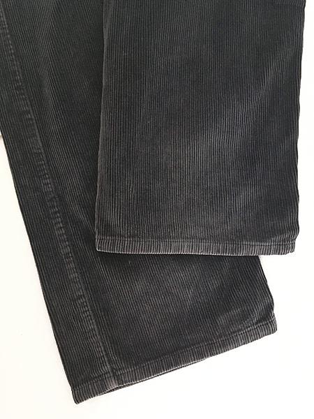 [5] 古着 90s ルーマニア製 HUGO BOSS 5ポケット コーデュロイ パンツ コーズ ストレート W33 L31 古着