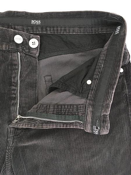 [6] 古着 90s ルーマニア製 HUGO BOSS 5ポケット コーデュロイ パンツ コーズ ストレート W33 L31 古着