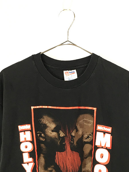 [2] 古着 90s WBA Holyfield vs Moorer ホリフィールド モーラー チャンピオンシップ ボクシング Tシャツ XL 古着