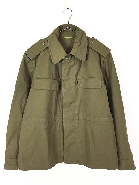 [1] 古着 80-90s チェコ軍 M-85 チンスト バックポケット ミリタリー フィールド ジャケット XL位 美品!! 古着