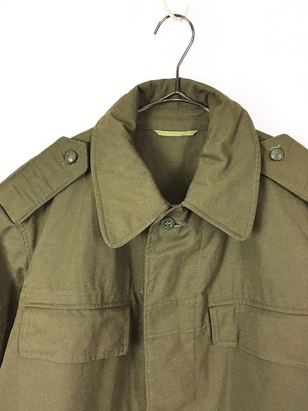 [2] 古着 80-90s チェコ軍 M-85 チンスト バックポケット ミリタリー フィールド ジャケット XL位 美品!! 古着