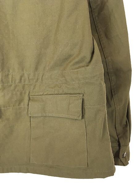 [4] 古着 80-90s チェコ軍 M-85 チンスト バックポケット ミリタリー フィールド ジャケット XL位 美品!! 古着