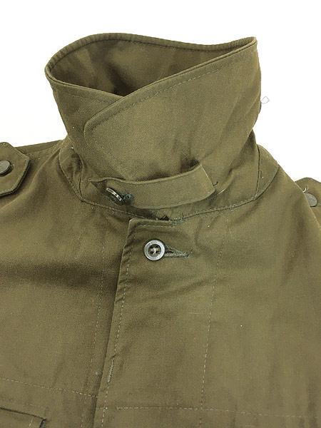 [5] 古着 80-90s チェコ軍 M-85 チンスト バックポケット ミリタリー フィールド ジャケット XL位 美品!! 古着