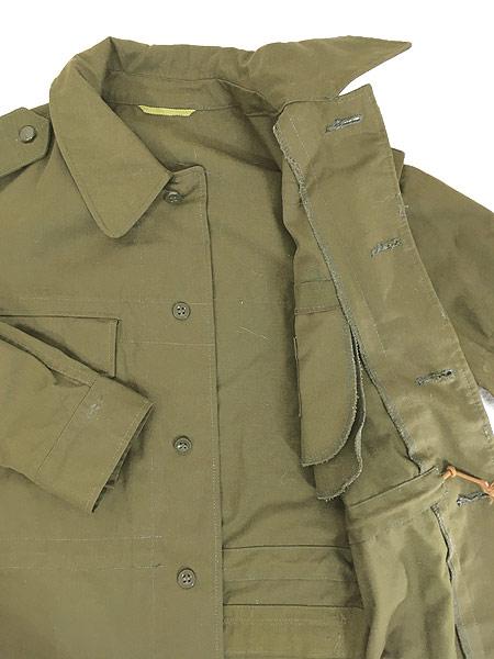 [6] 古着 80-90s チェコ軍 M-85 チンスト バックポケット ミリタリー フィールド ジャケット XL位 美品!! 古着