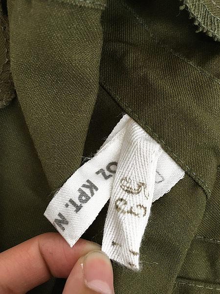 [7] 古着 80-90s チェコ軍 M-85 チンスト バックポケット ミリタリー フィールド ジャケット XL位 美品!! 古着