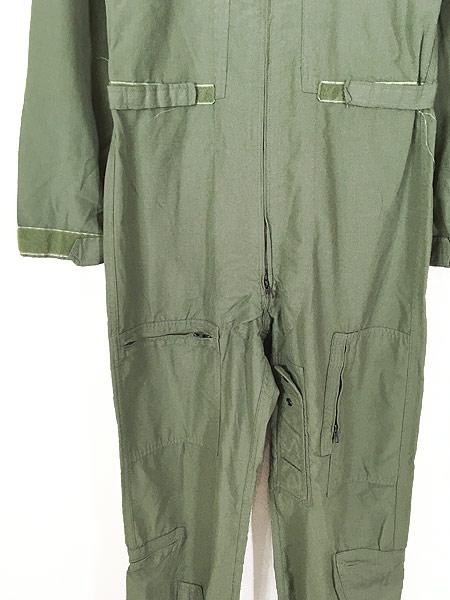 [3] 古着 10s 米軍 CWU-27/P ミリタリー 難燃 アラミド サマー フライト スーツ つなぎ 40L 古着