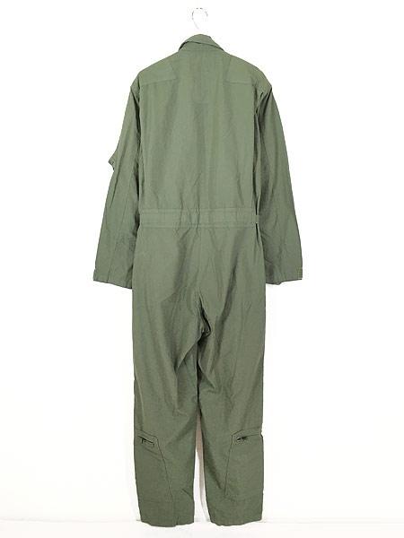 [5] 古着 10s 米軍 CWU-27/P ミリタリー 難燃 アラミド サマー フライト スーツ つなぎ 40L 古着