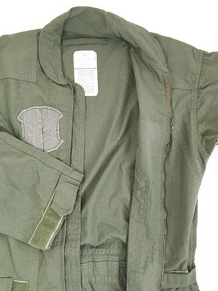 [7] 古着 10s 米軍 CWU-27/P ミリタリー 難燃 アラミド サマー フライト スーツ つなぎ 40L 古着