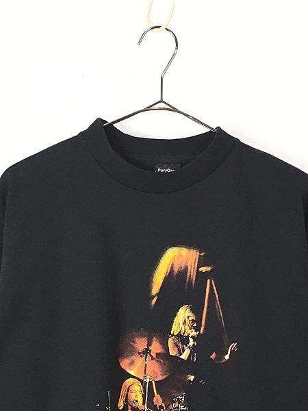 [2] 古着 90s Hanson ライブ フォト ポップ ロック バンド Tシャツ L 古着
