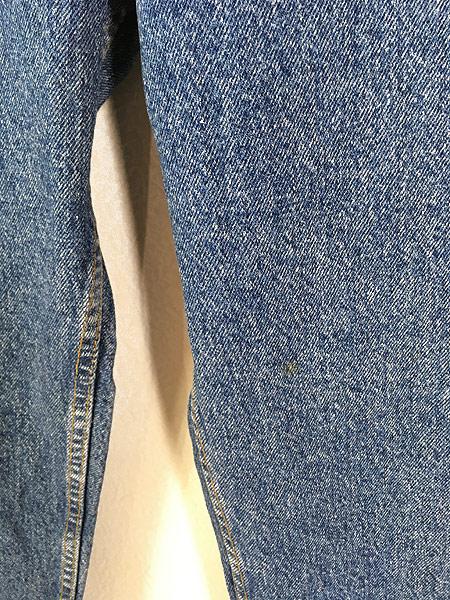 [3] 古着 90s USA製 Levi's 540 スエードパッチ デニム パンツ ジーンズ テーパード W34 L30 古着