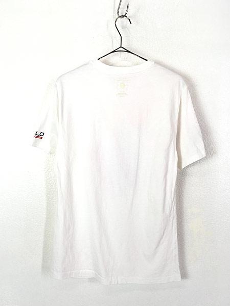 [4] 古着 POLO Ralph Lauren 「2016 RIO Olympic」 USA代表 オフィシャル Tシャツ S位 古着