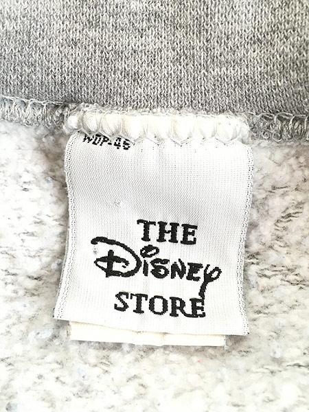 [6] 古着 90s USA製 Disney Pooh EEYORE イーヨー BIG キャラクター スウェット XL 古着