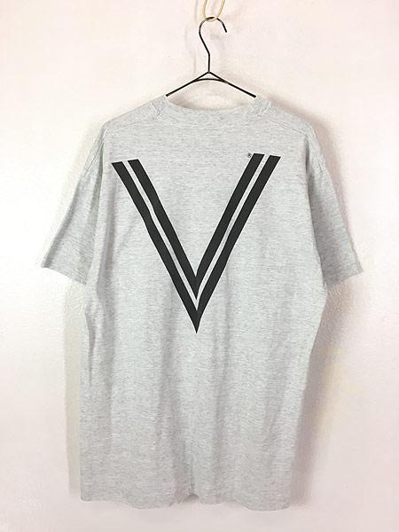 [4] 古着 90s USA製 USCG リフレクター ミリタリー Tシャツ XL 古着