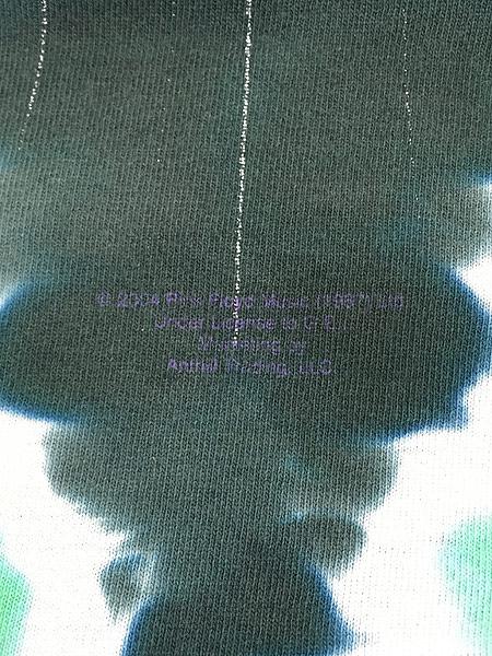 [8] 古着 80s&00s Pink Floyd 「The Dark Side Of The Moon」 狂気 タイダイ プログレ ロック バンド Tシャツ ボロ XL位 古着