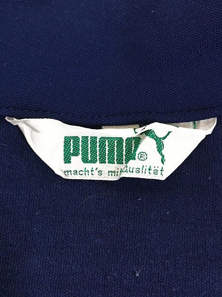 [6] 古着 70s PUMA ワンポイント オールド トラック トップ ジャージ 美品!! L位 古着