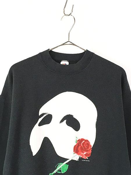 [2] 古着 80s USA製 The Phantom of the Opera オペラ座の怪人 ムービー ミュージカル スウェット XL 古着