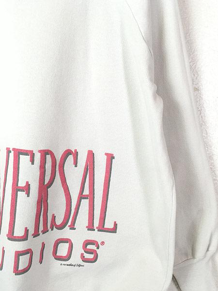 [3] 古着 80s UNIVERSAL STUDIOS オールドスウェット トレーナー XL位 古着