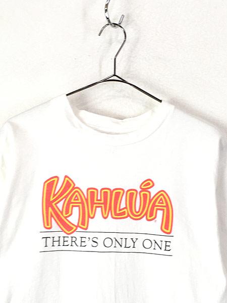 [2] 古着 90s USA製 KAHLUA カルーア リキュール プリント Tシャツ XL 古着