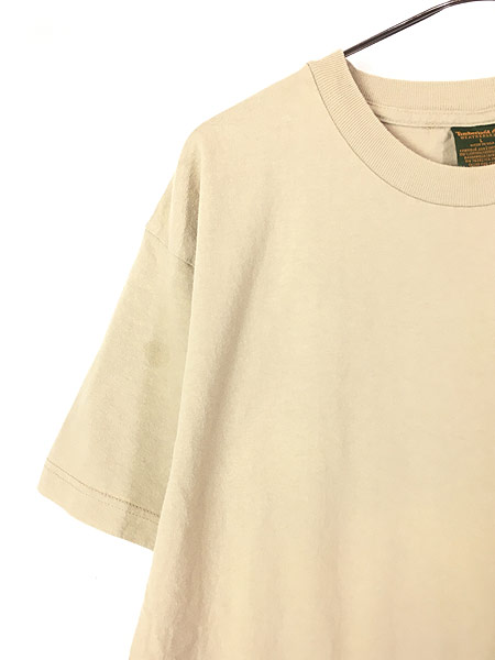 [3] 古着 90s USA製 Timberland ティンバー ワンポイント Tシャツ L 古着