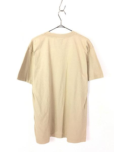 [4] 古着 90s USA製 Timberland ティンバー ワンポイント Tシャツ L 古着