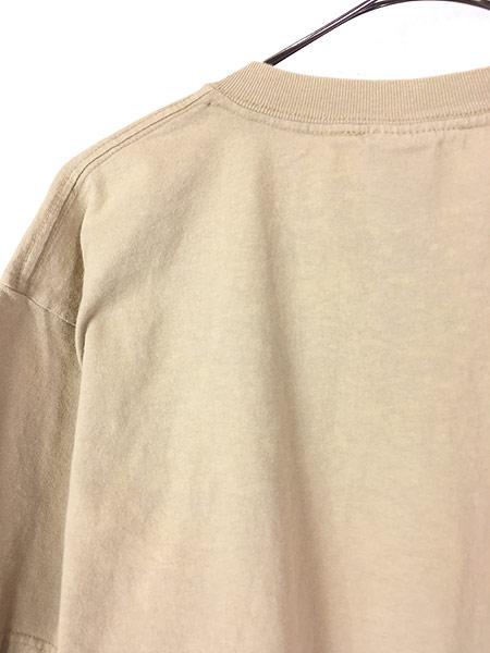 [5] 古着 90s USA製 Timberland ティンバー ワンポイント Tシャツ L 古着