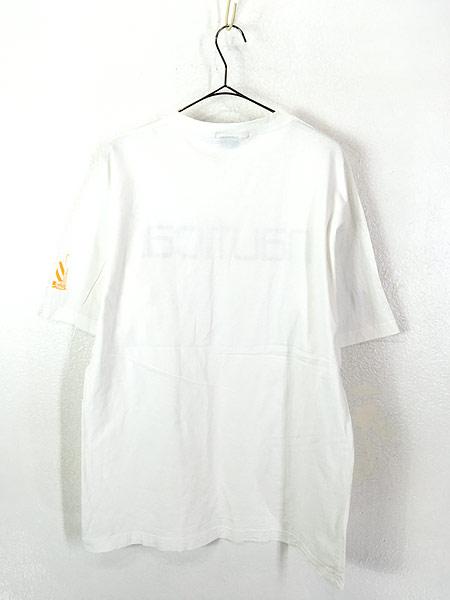 [3] 古着 90s Canada製 NAUTICA ノーティカ BIG ロゴ Tシャツ M 古着