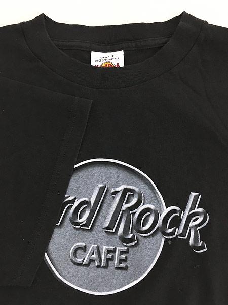 [4] 古着 90s Hard Rock Cafe 「ST LOUIS」 BIGロゴ ハードロック Tシャツ XL 古着