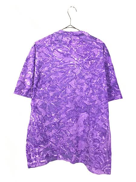 [3] 古着 90s Hard Rock Cafe 「JAMAICA」 BIGロゴ ハードロック タイダイ Tシャツ XL 古着
