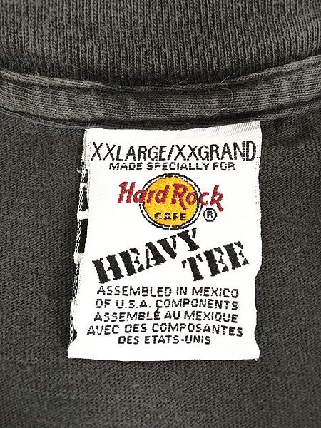 [5] 古着 90s Hard Rock Cafe 「MYRTLE BEACH」 エジプト ハードロック Tシャツ XXL 古着