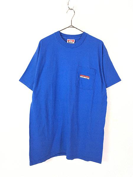 [1] 古着 90s USA製 Marlboro UNLIMITED コヨーテ ポケット Tシャツ ポケT レアカラー!! OSFA 古着
