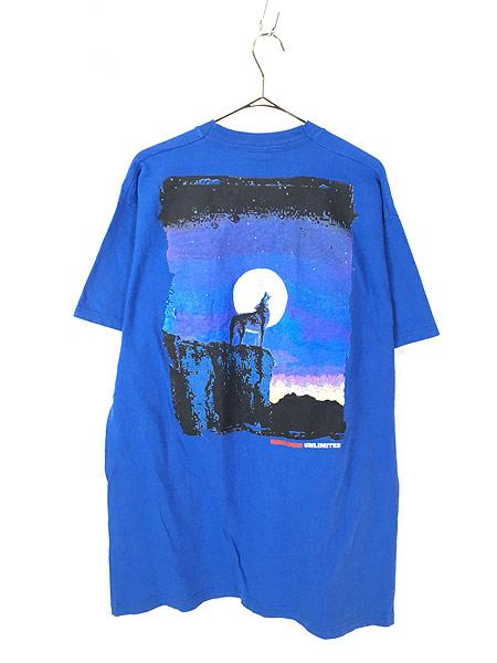 [3] 古着 90s USA製 Marlboro UNLIMITED コヨーテ ポケット Tシャツ ポケT レアカラー!! OSFA 古着