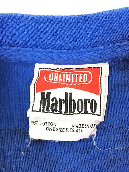 [5] 古着 90s USA製 Marlboro UNLIMITED コヨーテ ポケット Tシャツ ポケT レアカラー!! OSFA 古着