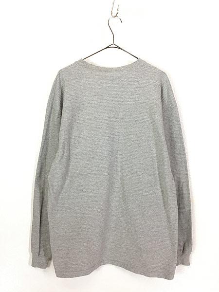[3] 古着 90s USA製 Disney DONALD ドナルド ダック ワンポイント ロングスリーブ Tシャツ ロンT XL 古着